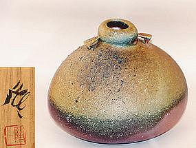 Large Bizen Vase by Kakurezaki Ryuichi