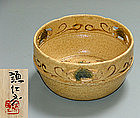Kiseto ceramic bowl by Kishimoto Kennin
