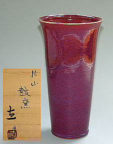 Exhibited Vase by Iwasaka Tadashi