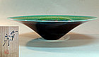 Large Porcelain Basin by LNT Yasokichi III