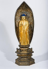 200 year old Amitabha Amida-Nyorai Buddha Statue