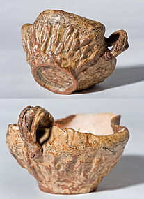 Edo period lotus shaped Yuzamashi for tea ceremony