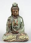 Ming Longquan Celadon Porcelain Guanyin
