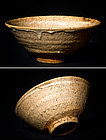 Korean Ido Chawan with Kintsugi gold restoration 16.-17.cent.