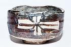 Momoyama Period Shino-Oribe Chawan with cross design