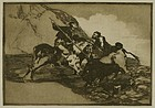 "Francisco Goya, etching, From ""La Tauromaquia"""