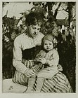 "William Lee Hankey, etching, ""In the Garden"""