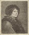 Pieter de Jode I, etching, Young Nobleman