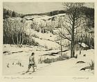 "William Joseph Schaldach, ""Chores - Lyons Plain, CT"""
