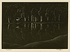 "Asa Cheffetz, wood engraving, ""Daybreak,"" 1933"