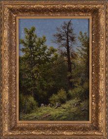 "Joseph Elliot Enneking, oil on canvas, ""Hog Island"""