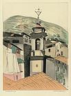 "Augusta Payne Rathborn, ""Luceram Midi Tour St. Jacques"""