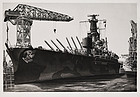 "John Taylor Arms, Etching, ""Battle Wagon USS Alabama"""