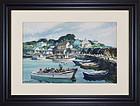 """Gordon Grant, Watercolor, """"The Cove"""""""