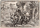 Niccolo Boldrini, Wood Engraving, Caricature of Laocoon