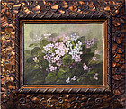"19th Century American School, Oil on Canvas, ""Floral Still Life"""