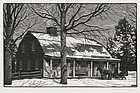 "Thomas W. Nason, Wood Engraving, ""Grant's General Store"" 1959"