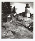 "Stow Wengenroth, lithograph, ""Island Light"" 1937"