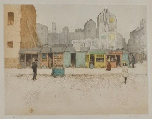 "Tavik F. Simon, Czech, ""From the Latin Quarter"", 1907"