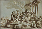 Johann Prestel, etching, The Adoration of the Shepherds, 1784