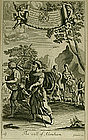 "Richard Blome, Engraving, ""The Call of Abraham"""