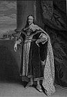 "Sir Robert Strange, Engraving, ""Portrait of Charles I"""