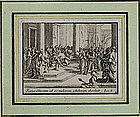 Jacques Callot, Engraving, Scene from the New Testament