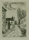 "Maurice de Vlaminck, etching, ""Frontispiece..."""