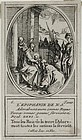 "Jacques Callot, engraving, ""L'Epiphanie"""