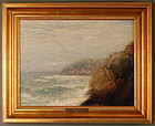 "James Gale Tyler, painting, ""Seascape"""