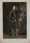 """Pieter Stevens van Gunst, engraving, """"Charles I"""""""