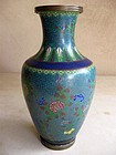 Chinese 19th Century Cloisonne Vase