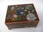 Japanese Cloisonne Lidded Box