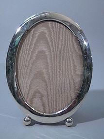 Clarence Vanderbilt American Sterling Silver Oval Frame