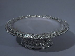 Tiffany American Silver Soldered Compote C 1885