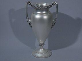 International Sterling Silver Urn Vase C 1920