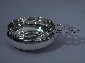Cartier French Sterling Silver Porringer C 1950