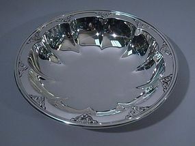 Tiffany Sterling Silver Petal Bowl C 1925