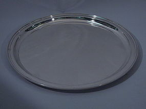 Large Tiffany Sterling Silver Tray