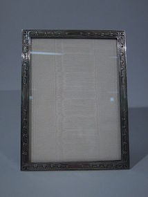 Tiffany Sterling Silver Picture Frame C 1910