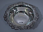 Tiffany Clover Sterling Silver Bowl C 1898