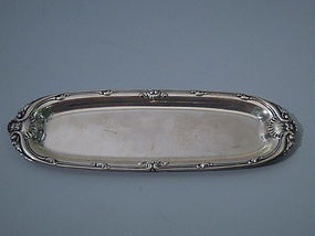 Whiting Sterling Silver Desk Tray C 1900
