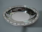 Tiffany Sterling Silver Pierced Bowl C 1930