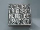 Friendship Box - Scottish Sterling Silver 2000