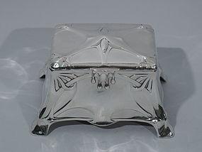 Art Nouveau Silver Casket - Exciting German Avant-Garde Design