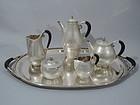Georg Jensen Cosmos Tea & Coffee Set - Danish Sterling Silver C 1935