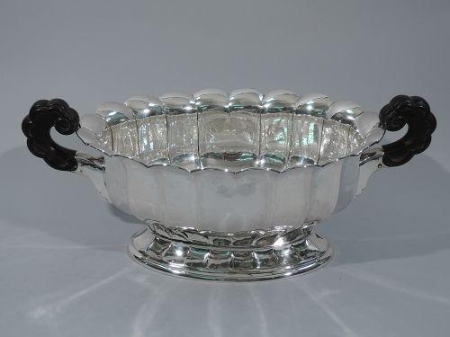 Classical Centerpiece Bowl - German Silver C 1920