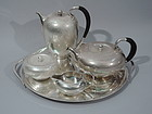 Wonderful Georg Jensen Tea & Coffee Set - Danish Sterling Silver