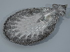 Antique Tiffany Sterling Silver Petit Four Plate C 1892