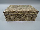 Japanese Silver Gilt Chrysanthemum Jewelry Box by Arthur Bond